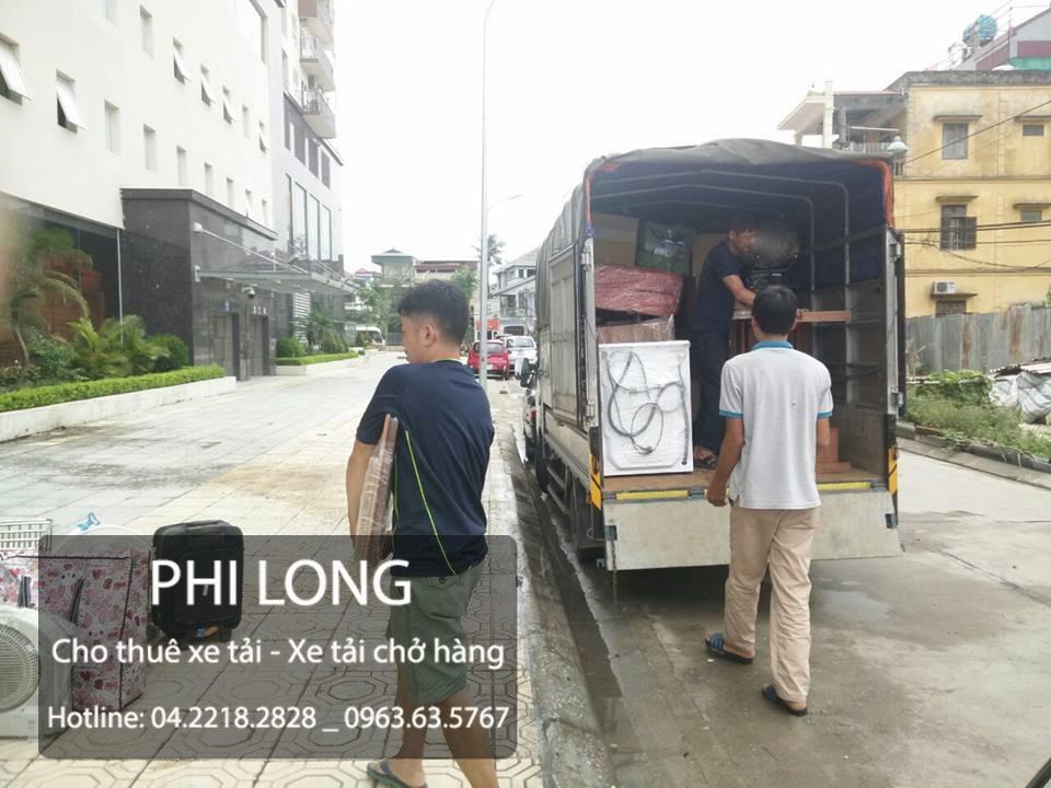 Dịch vụ cho thuê xe tải chở hàng tại đường Trung Văn