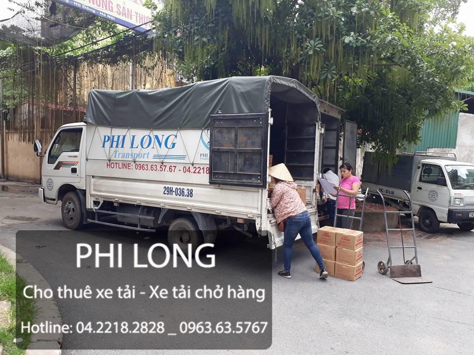 Phi Long cho thuê xe tải chở hàng giá rẻ tại phố VŨ Hữu