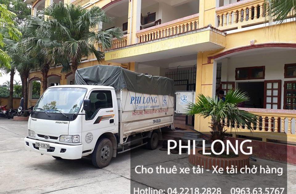 Dịch vụ cho thuê xe tải chuyển nghiệp Phi Long tại phố Nhân Hòa