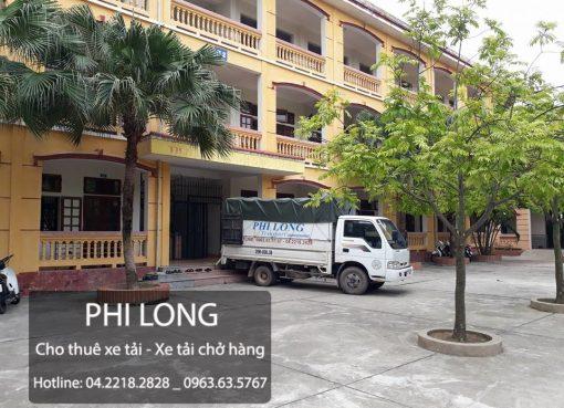 Taxi tải Phi Long cho thuê xe tải chở hàng tại phố Lương Thế Vinh