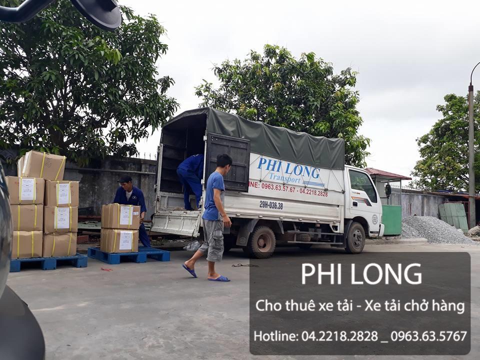 Cho thuê xe tải chở hàng giá rẻ tại phố Nhân Hòa