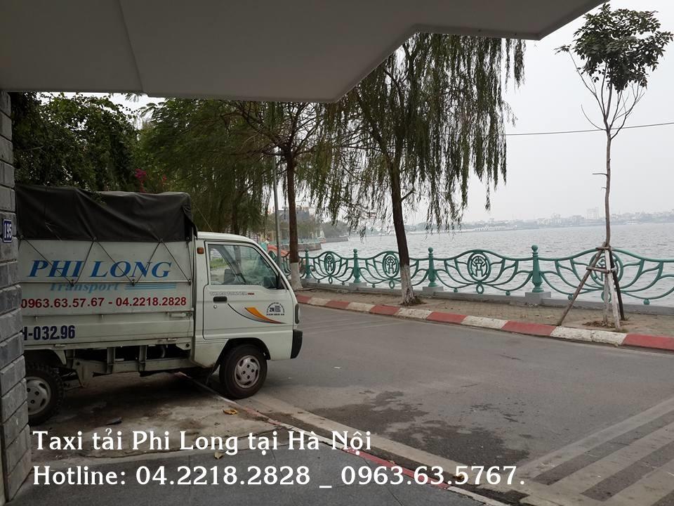 Phi Long cho thuê xe tải chở hàng tại phố Văn Quán