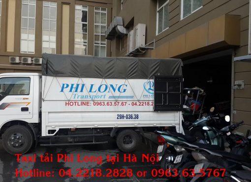 Cho thuê xe tải uy tín nhất tại phố Bạch Thái Bưởi