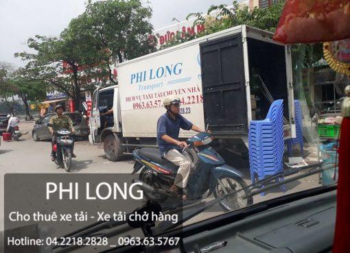Phi Long cho thuê xe tải giá rẻ chuyên nghiệp tại phố Yên Phúc