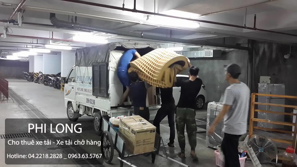 Dịch vụ chở hàng thuê Phi Long tại phố Trung Hòa