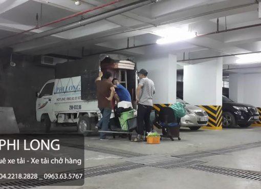 Taxi tải giá rẻ Phi Long tại phố Lê Văn Lương