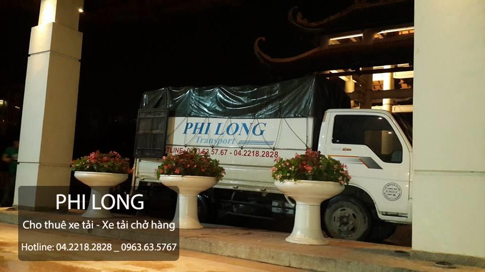 Dịch vụ cho thuê xe tải chuyên nghiệp tại phố Nguyễn Thị Định