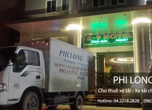 Taxi tải giá rẻ tại phố Nguyễn Thị Định