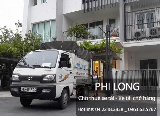 Dịch vụ cho thuê xe tải Phi Long tại phố Vũ Trọng Phụng
