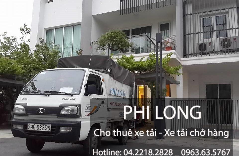 Phi Long hãng cho thuê xe tải chở hàng giá rẻ tại đường Triều Khúc