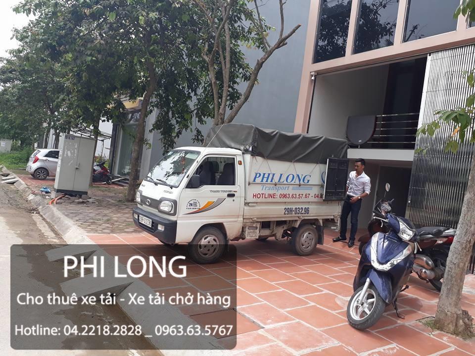 Cho thuê xe tải chở hàng giá rẻ tại phố Vũ Trọng phụng