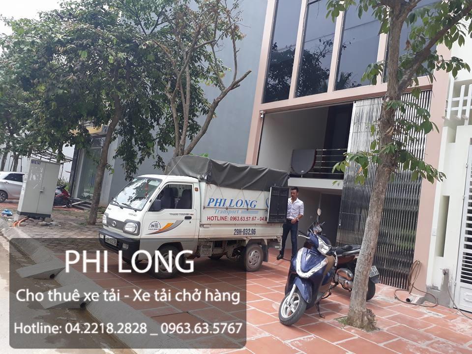 Dịch vụ chở hàng thuê xe tải Phi Long tại đường Triều Khúc