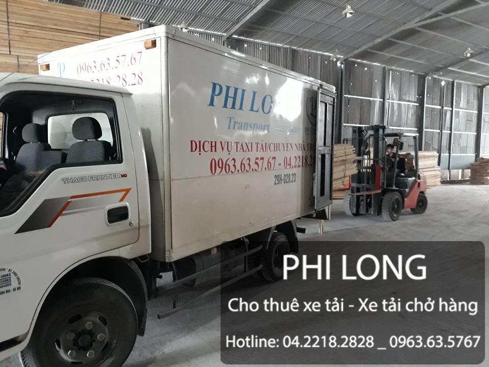 Dịch vụ cho thuê xe tải chở hàng giá rẻ tại phố Nguyễn Văn Lộc