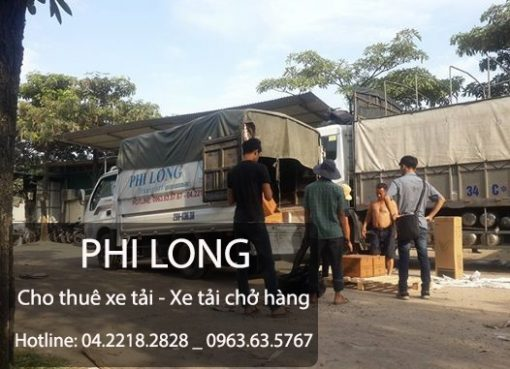 Dịch vụ cho thuê xe tải giá rẻ tại phố Văn La