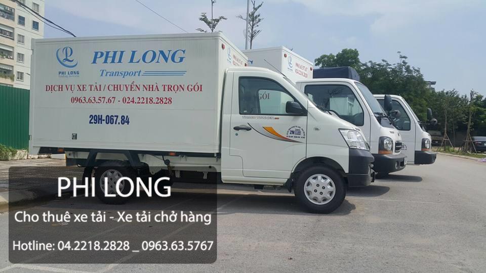 Dịch vụ cho thuê xe tải chở hàng tại phố Phùng Khoang