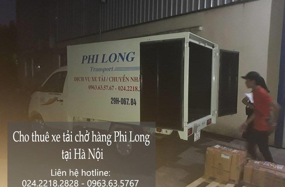 Dịch vụ cho thuê xe tải chở hàng tại phố Hoàng Văn Thái
