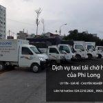 Dịch vụ chở hàng thuê tại phố Yên Nội