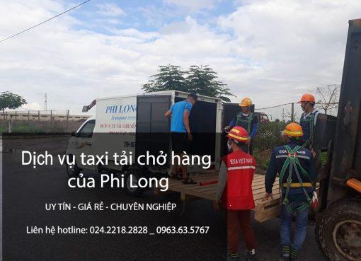 Taxi tải Phi Long cho thuê xe tải chở hàng tại phố Định Công Hạ