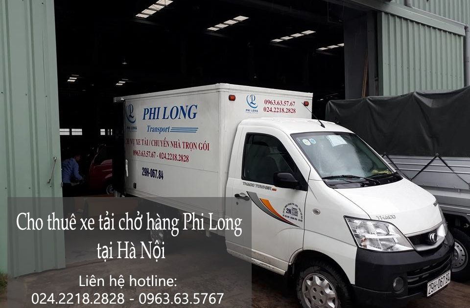 Dịch vụ cho thuê xe chở hàng tại phố Chu Huy Mân-0963.63.5767