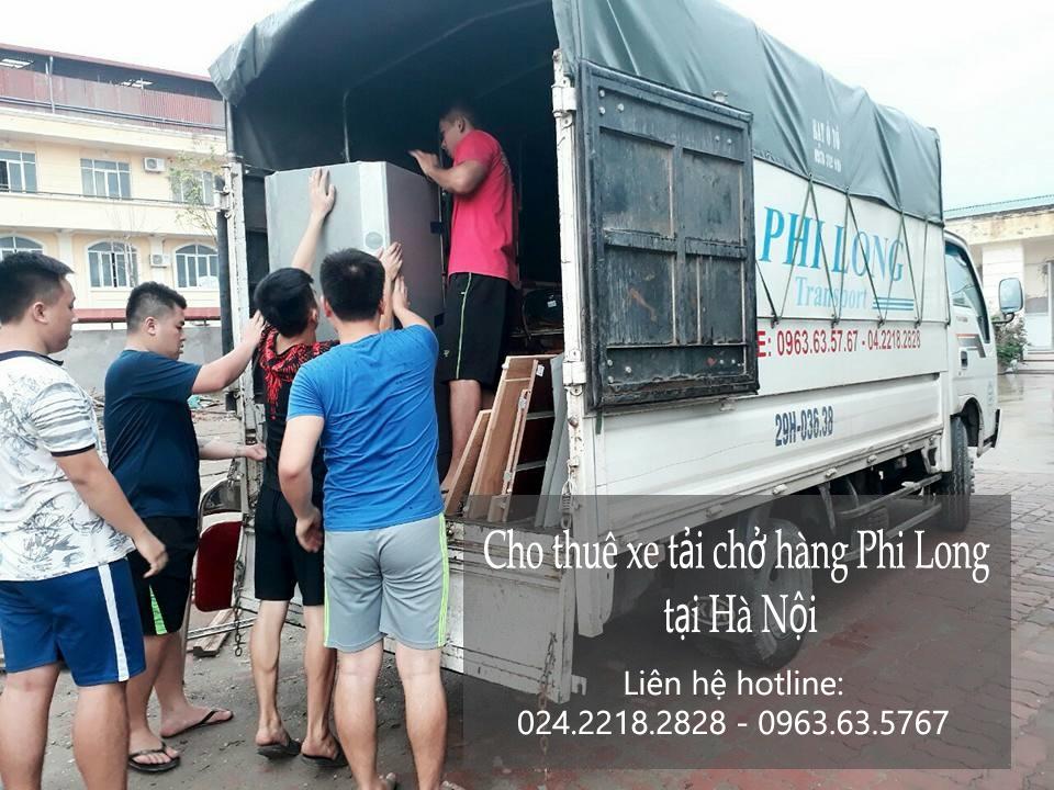Dịch vụ chở hàng thuê Phi Long tại phố Tô Vĩnh Diện