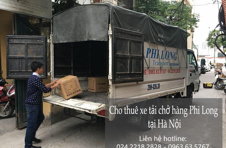 Dịch vụ chở hàng thuê tại phố Đông Thiên