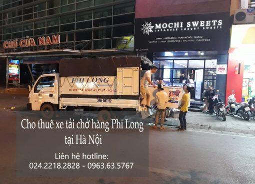 Dịch vụ chở hàng thuê bằng xe tải tại phố Đào Duy Anh
