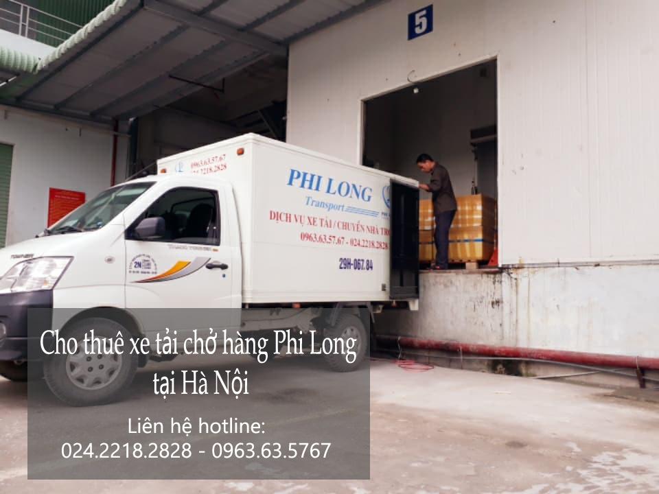Dịch vụ chở hàng thuê tại phố Trần Quang Diệu