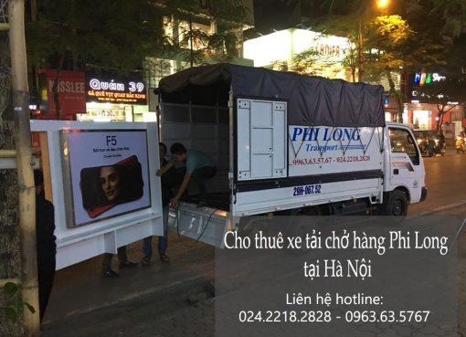 Dịch vụ chở hàng thuê tại phố Trần Khát Chân