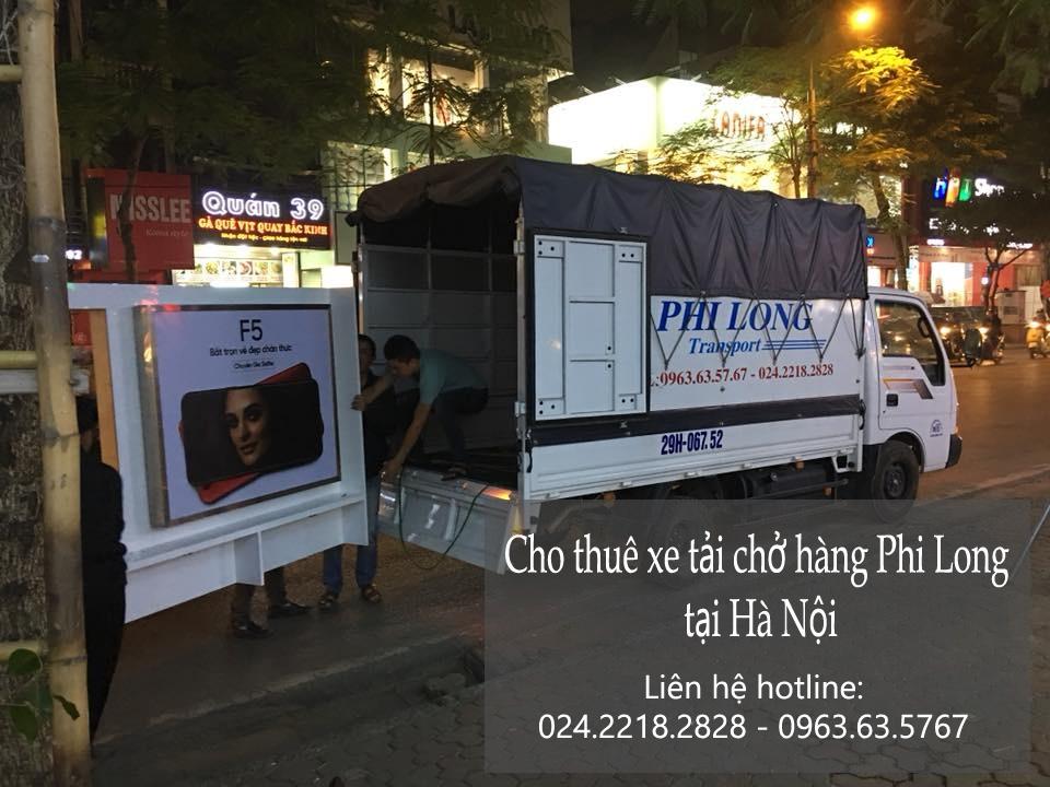 Dịch vụ xe tải chở hàng tại phố Nguyễn Văn Lộc