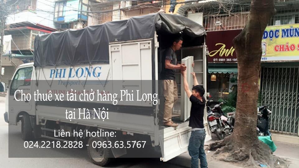 Dịch vụ chở hàng thuê tại phố Trịnh Hoài Đức