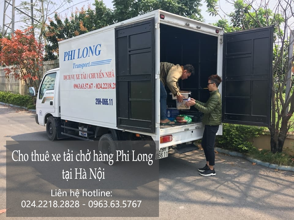 Dịch vụ chở hàng thuê tại phố Ngô Văn Sở