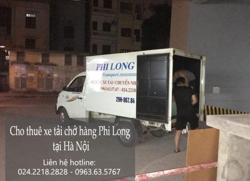Dịch vụ chở hàng thuê tại phố Nguyễn Văn Trỗi