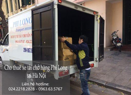 Dịch vụ chở hàng thuê tại phố Nguyễn Thượng Hiền