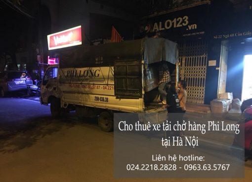 Thuê xe chuyển nhà giá rẻ tại phố Tràng Tiền