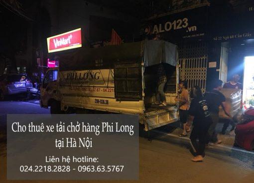 Thuê xe chuyển đồ giá rẻ tại phố Tô Tịch