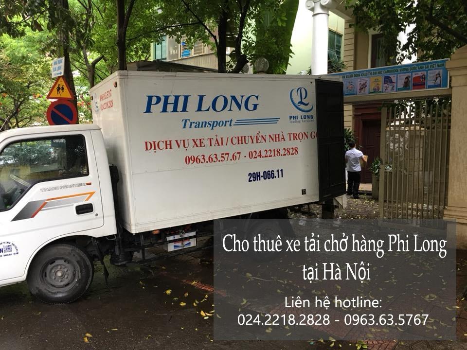 Dịch vụ cho thuê xe tải chở hàng tại phố Vũ Phạm Hàm