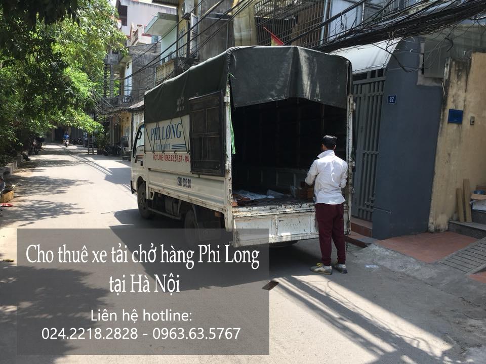 Dịch vụ chở hàng thuê Phi Long tại phố Nhân Hòa