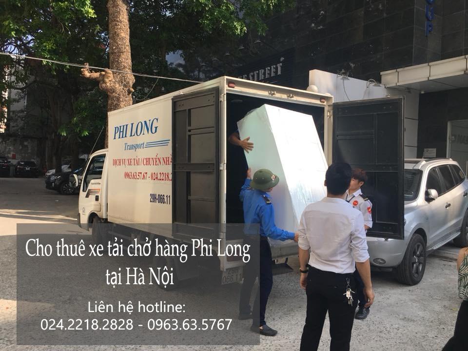 Taxi tải Hà Nội vận chuyển đồ tại phố Trần Kim Chung