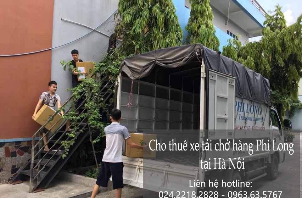 Xe tải chuyển nhà chuyên nghiệp tại phố Nguyễn Đình Chiểu