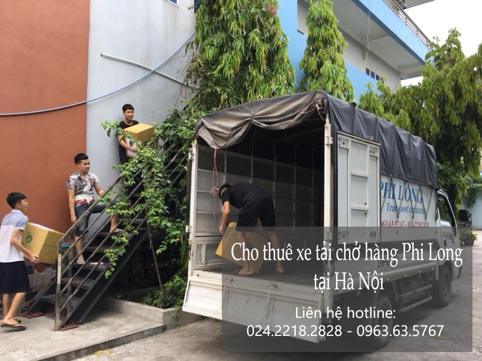 Cho thuê xe tải Hà Nội chở hàng tại phố Tô Tiến Thành