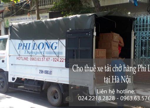 Dịch vụ thuê xe tải chở hàng thuê tại phố Phan Huy Ích