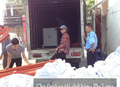Dịch vụ chở hàng thuê tại phố Phúc Xá