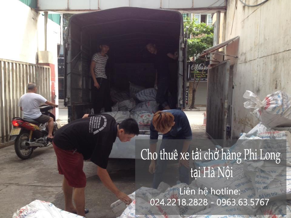 Dịch vụ chở hàng thuê tại phố Hàng Than