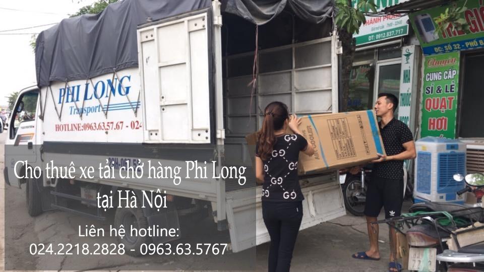 Dịch vụ chở hàng thuê tại phố Hàng Vôi
