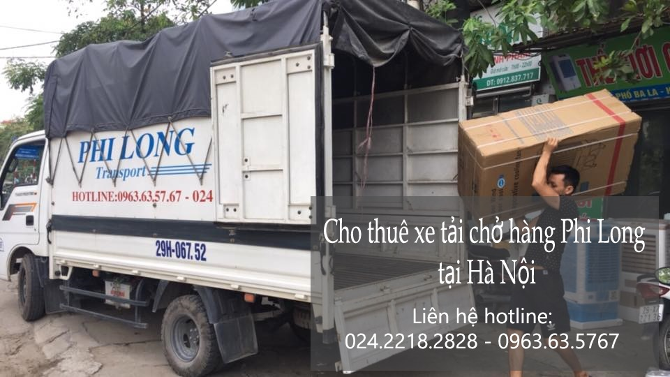 Dịch vụ chở hàng thuê tại phố Trường Lâm