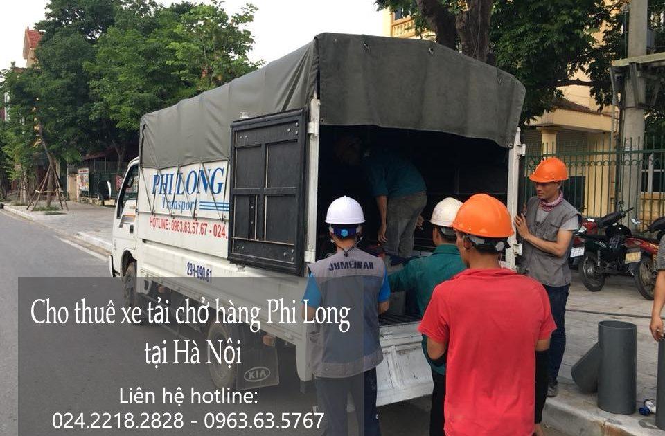Dịch vụ chở hàng thuê tại phố Gầm Cầu