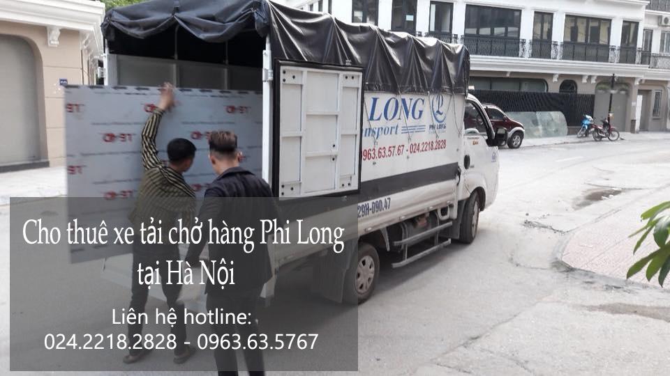 Dịch vụ chở hàng thuê tại phố Cát Linh 2019