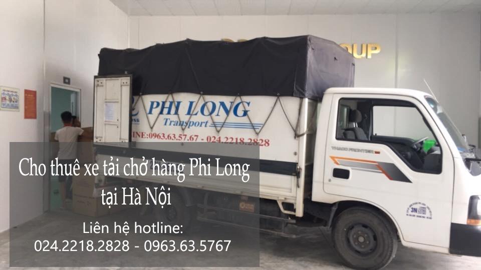 Dịch vụ chở hàng thuê tại phố Bưởi