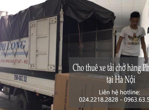 Dịch vụ chở hàng thuê tại phố Phan Văn Đáng