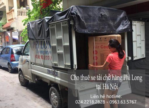 Dịch vụ chở hàng thuê tại phố Khâm Thiên